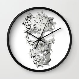 Simple Skull Wall Clock
