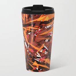 red & spiky Metal Travel Mug
