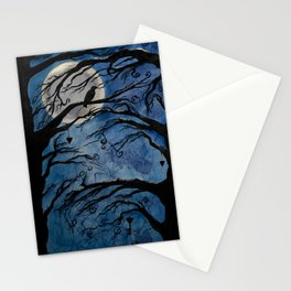 Forest of silence Stationery Cards
