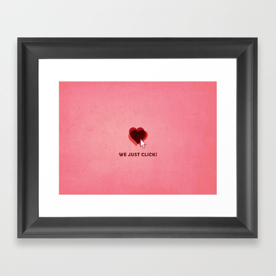 We just click Framed Art Print