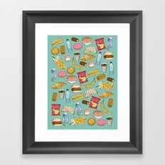 Schoollunch Framed Art Print