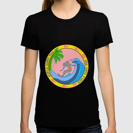Girls Surf Too solid T-shirt