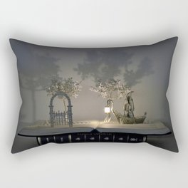 Charon and the door to a world of dreams Rectangular Pillow