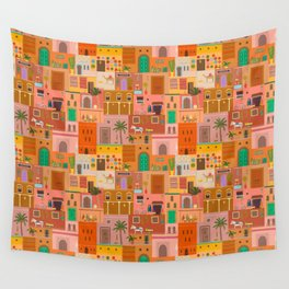 Marrakesh: The Red City Wall Tapestry