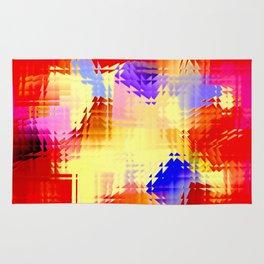 Square glass  12 Rug