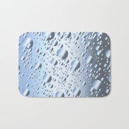 Quicksliver Mercury Bubbles Bath Mat