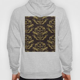 Fox Damask Hoody