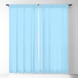 Spring - Pastel - Easter Blue Solid Color Blackout Curtain