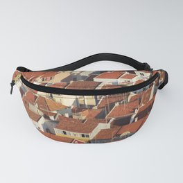 house roofs antenna building Fanny Pack