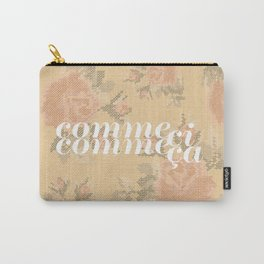 Comme Ci Comme Ca Carry-All Pouch