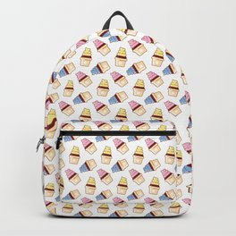 Vector cupcakes pattern Backpack