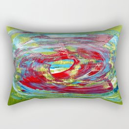 Abstract 11 Rectangular Pillow