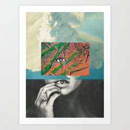 before the rain... Art Print