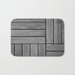 Wood pattern Bath Mat