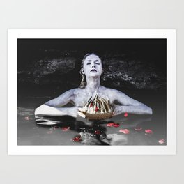 The Crown Art Print