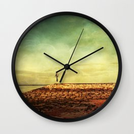 no one was watching Wall Clock