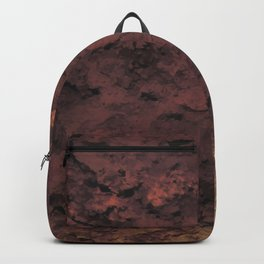 Dark red wall Backpack