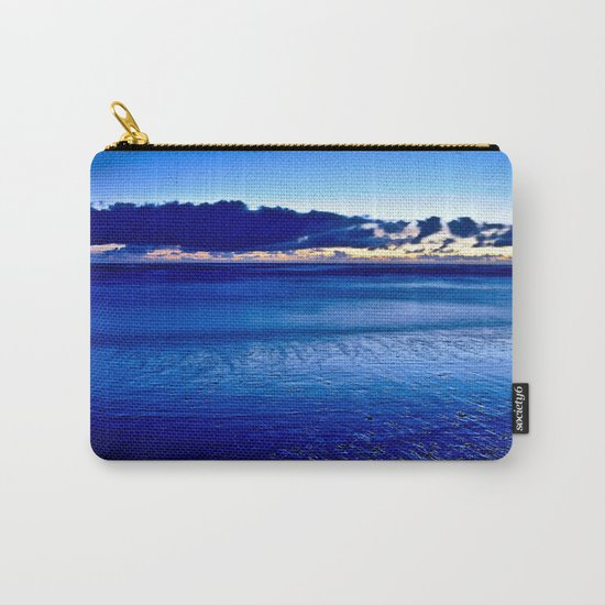 BLUE SILENCE of the SEA Carry-All Pouch