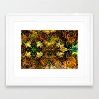 fibonacci Framed Art Prints featuring Fibonacci 1 by Aleks7