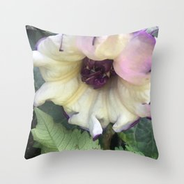 Royal Trumpet Throw Pillow