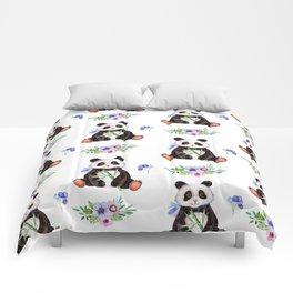 Garden Panda Comforters