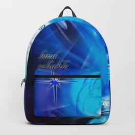 Zodiac sign Aquarius  Happy Birthday 4 Backpack