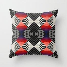 Glitch #1 Throw Pillow