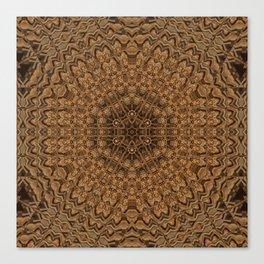 Sequential Baseline Mandala 32 Canvas Print