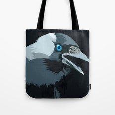 Corvus monedula has a stinking attitude Tote Bag