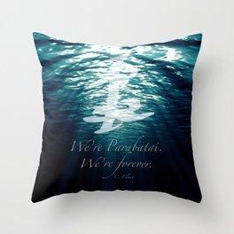 Shadow - Forever parabatai Throw Pillow