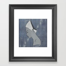 Can't Get No Retrospection (White) Framed Art Print