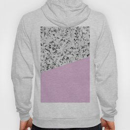 Granite with Pink Lavender Color Hoody