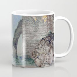 The Rock Needle and the Porte d'Aval by Claude Monet Coffee Mug
