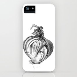 Withered Onion iPhone Case
