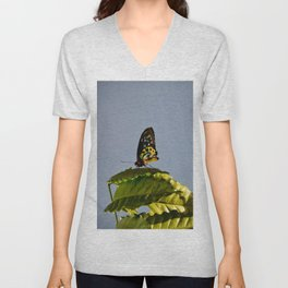 The Queen Alexandra Bird Wing Butterfly by Teresa Thompson Unisex V-Neck