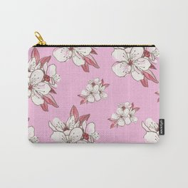 X-tra Ordinary Cherry Blossoms Carry-All Pouch