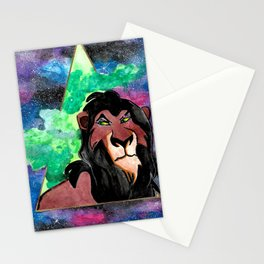Scar, be prepared Stationery Cards