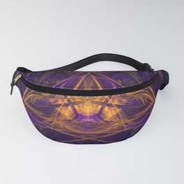 Fire Glow Raccoon Fanny Pack