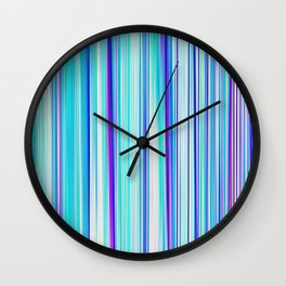 Re-Created Angel Hair XV by Robert S. Lee Wall Clock