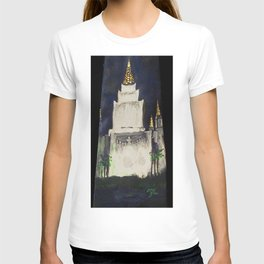 Oakland CA LDS Temple Tie 2 T-shirt