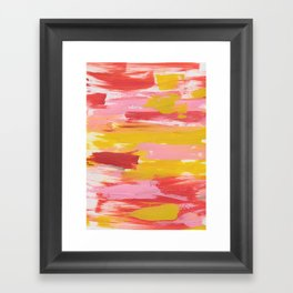 The Seventies Framed Art Print