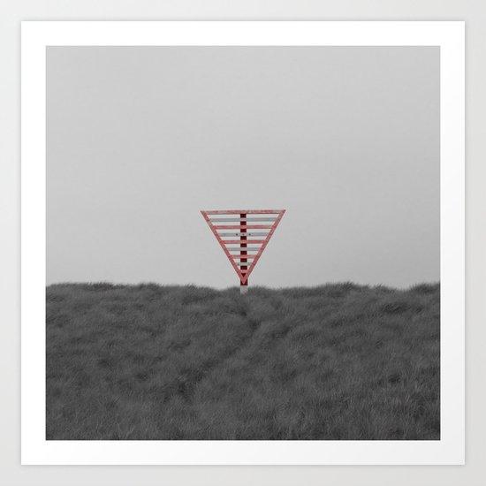 Triangle Art Print