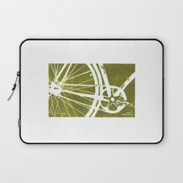 Olive Bike Laptop Sleeve