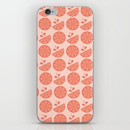Cheerful Citrus in Pink (Grapefruit) iPhone Skin