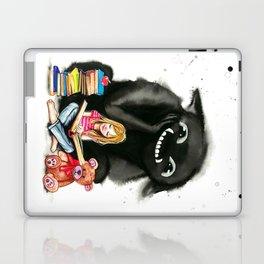 My monster keeps me company Laptop & iPad Skin