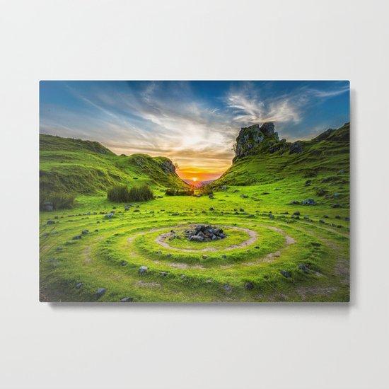 Fairytale Landscape, Isle of Skye, Scotland Metal Print
