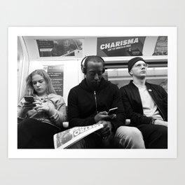 London charisma Art Print