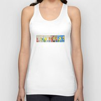 boxing Tank Tops featuring Boxing by Bakal Evgeny
