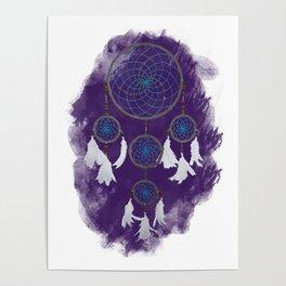 Classic Dreamcatcher 2: Purple background Poster