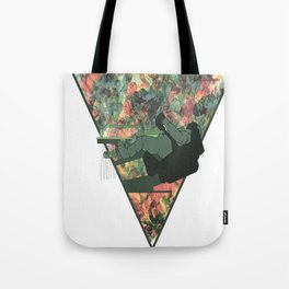 Dentist chair and astronaut Tote Bag